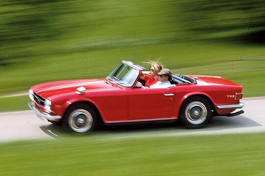 Triumph TR6, Seitenansicht