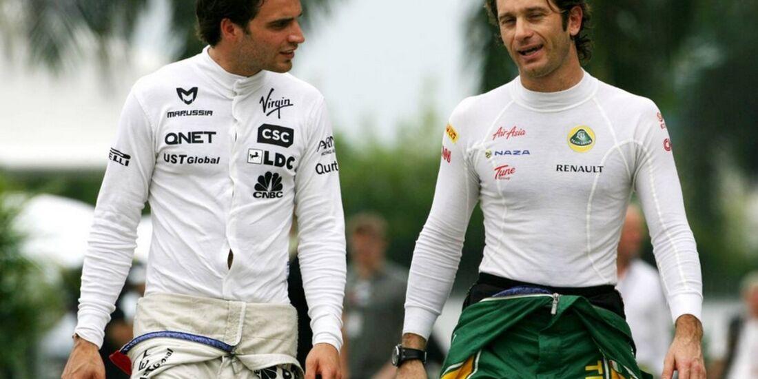 Trulli d'Ambrosio GP Malaysia 2011 Formel 1