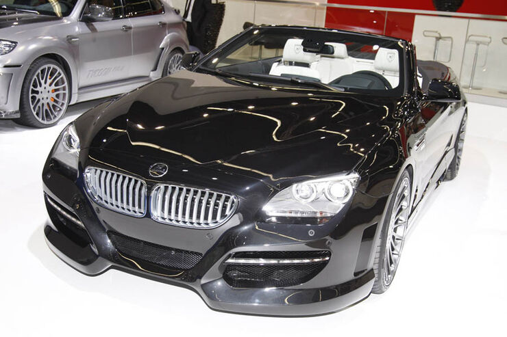 hamann bmw 6er cabrio auf der iaa offener 6er markanter. Black Bedroom Furniture Sets. Home Design Ideas