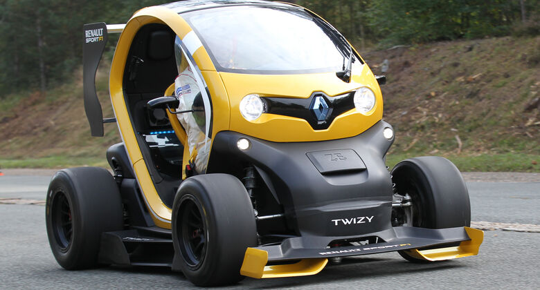 renault twizy tests auto motor und sport. Black Bedroom Furniture Sets. Home Design Ideas