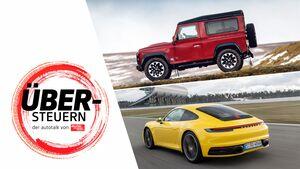Übersteuern Podcast Folge 3 Porsche 911 Land Rover Defender