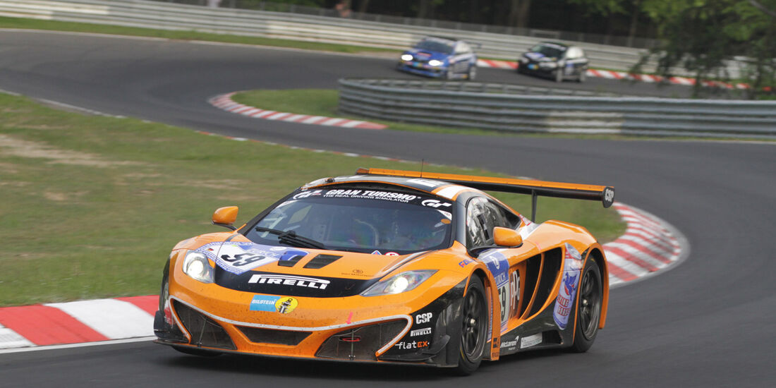 Übler McLaren 24h Nürburgring 2012