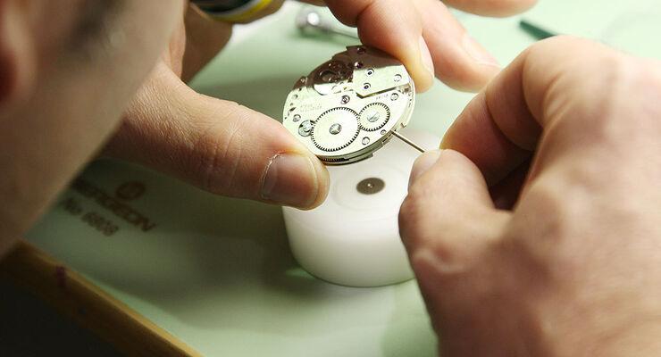 Uhren-Seminar Unitas-Taschenuhrwerk 2009