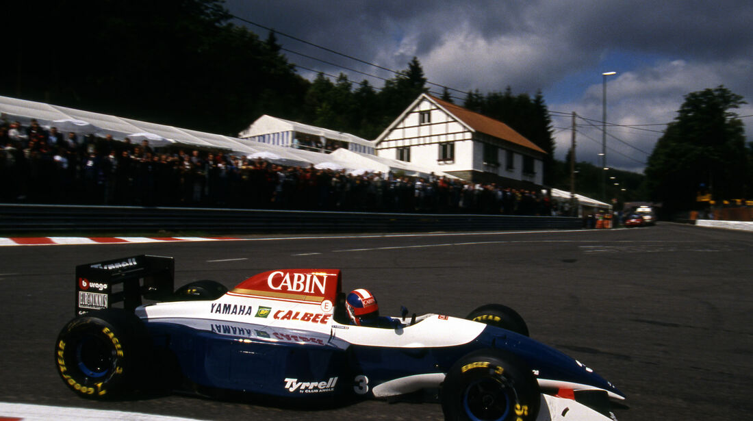 Ukyo Katayama - Tyrrell Yamaha 021 - GP Belgien 1993 - Spa