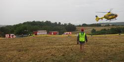 Unfall Rallye Deutschland 2013