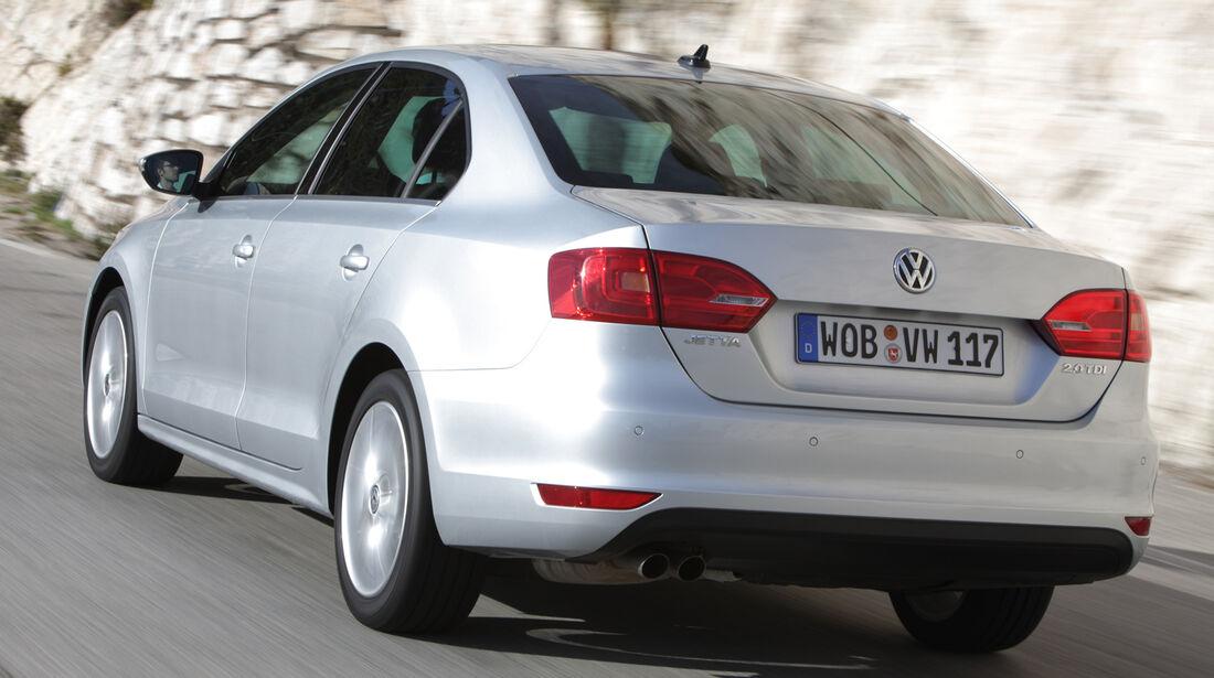 Unterhalts-Schnäppchen, VW Jetta 1-2 TSI