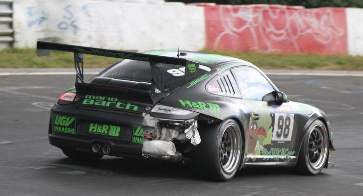 Uwe Alzen Porsche VLN 8. Lauf 2012