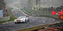 VLN 2 - Nürburgring - Schnee - 13. April 2019