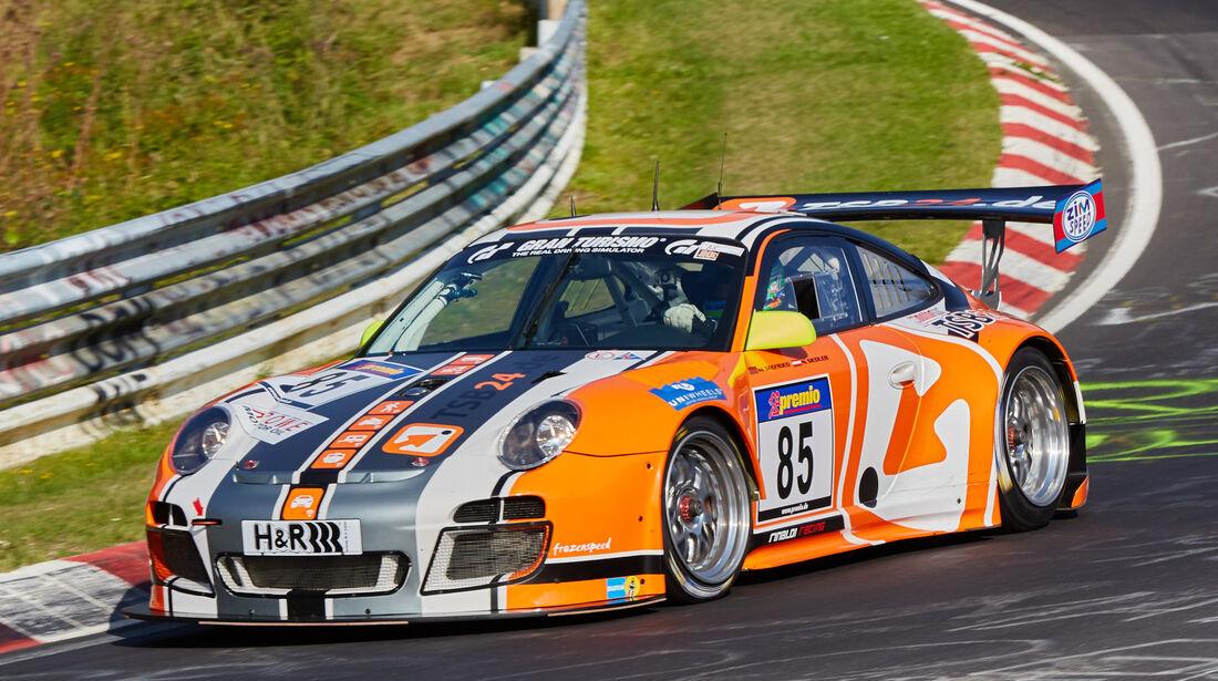 VLN 2015 - Nürburgring - Porsche 911 GT3 - Startnummer #85 - SP7