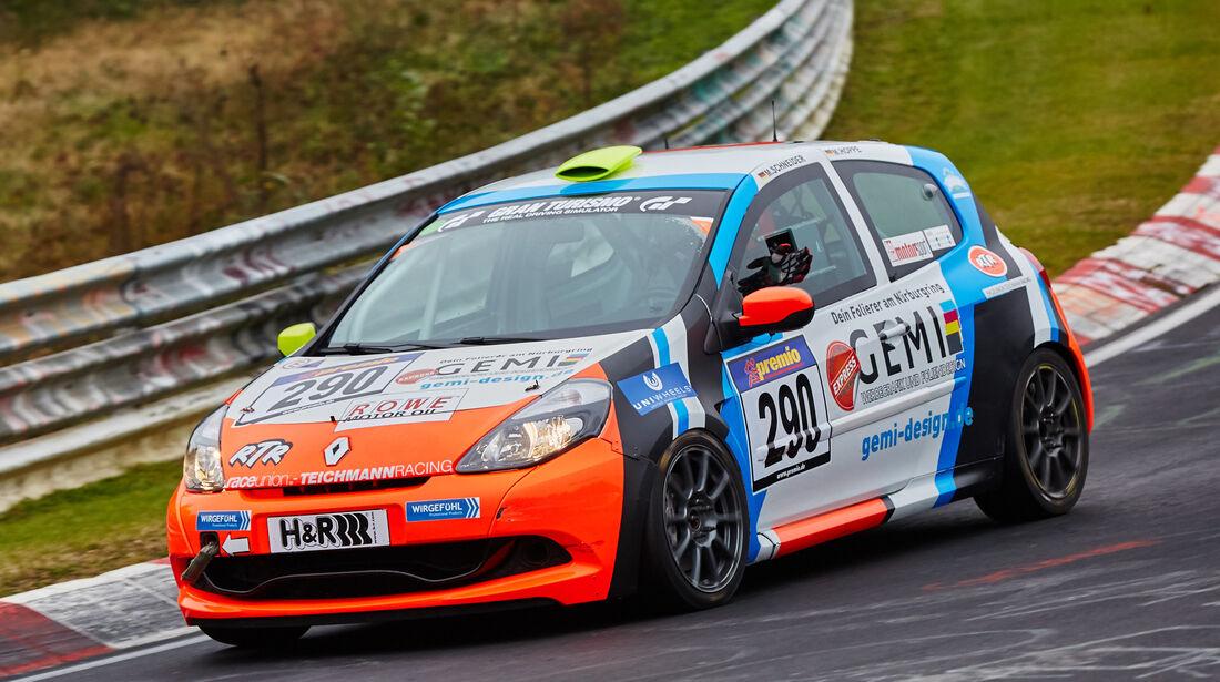 VLN 2015 - Nürburgring - Renault Clio Cup - Startnummer #290 - SP3