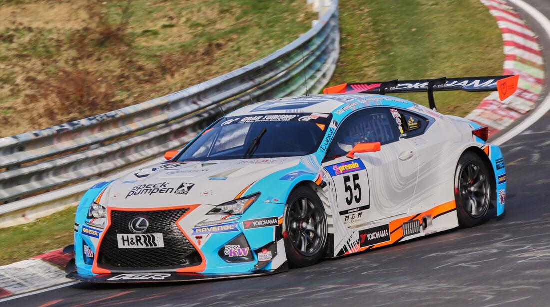 VLN 2016 - Nürburgring Nordschleife - Startnummer #55 - Lexus RC-F GT3 - SP9