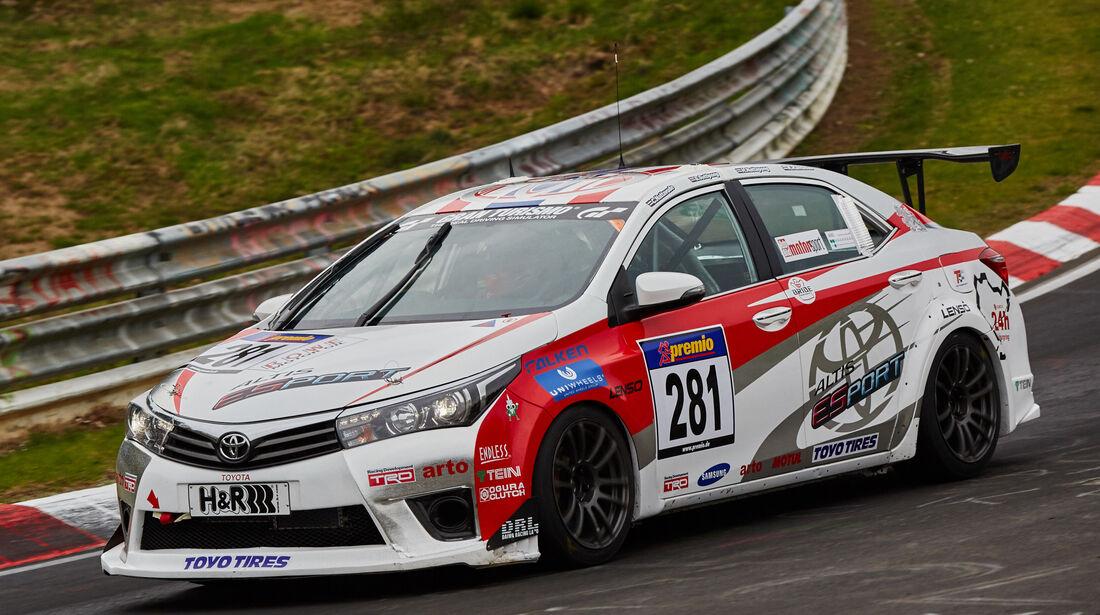VLN - Langstreckenmeisterschaft - Nürburgring - Nordschleife - Toyota Corolla Altis - #281