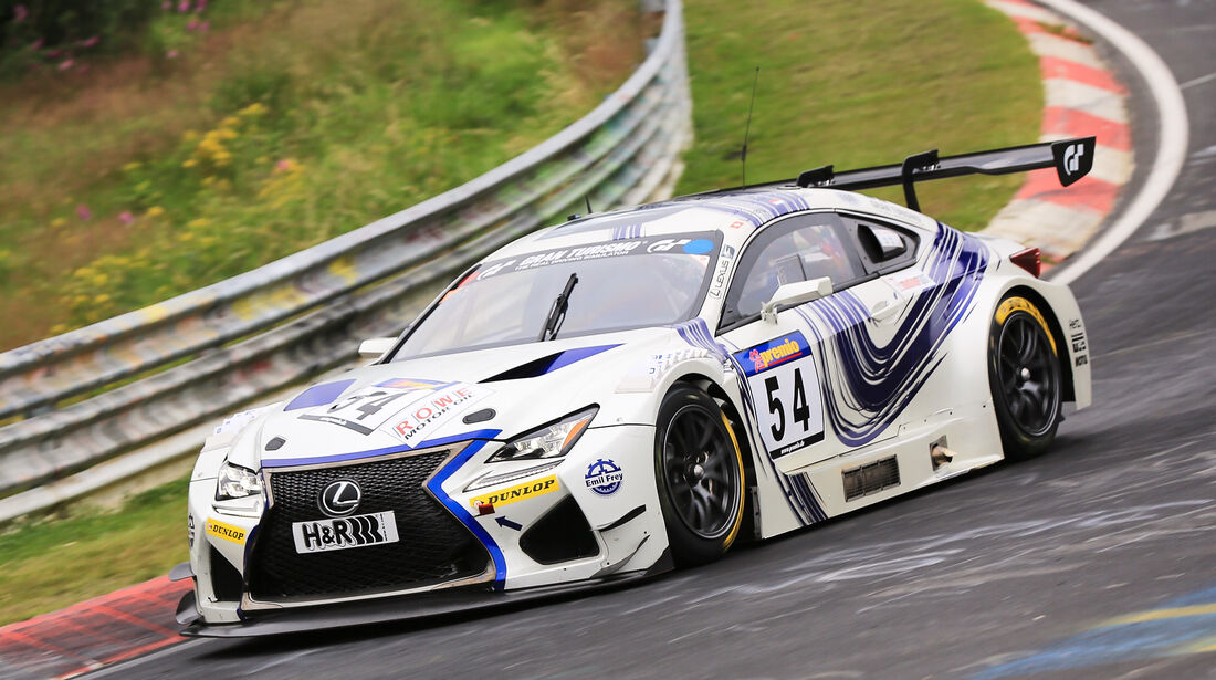 VLN - Nürburgring Nordschleife - Startnummer #54 - Lexus RC F GT3 - SPX