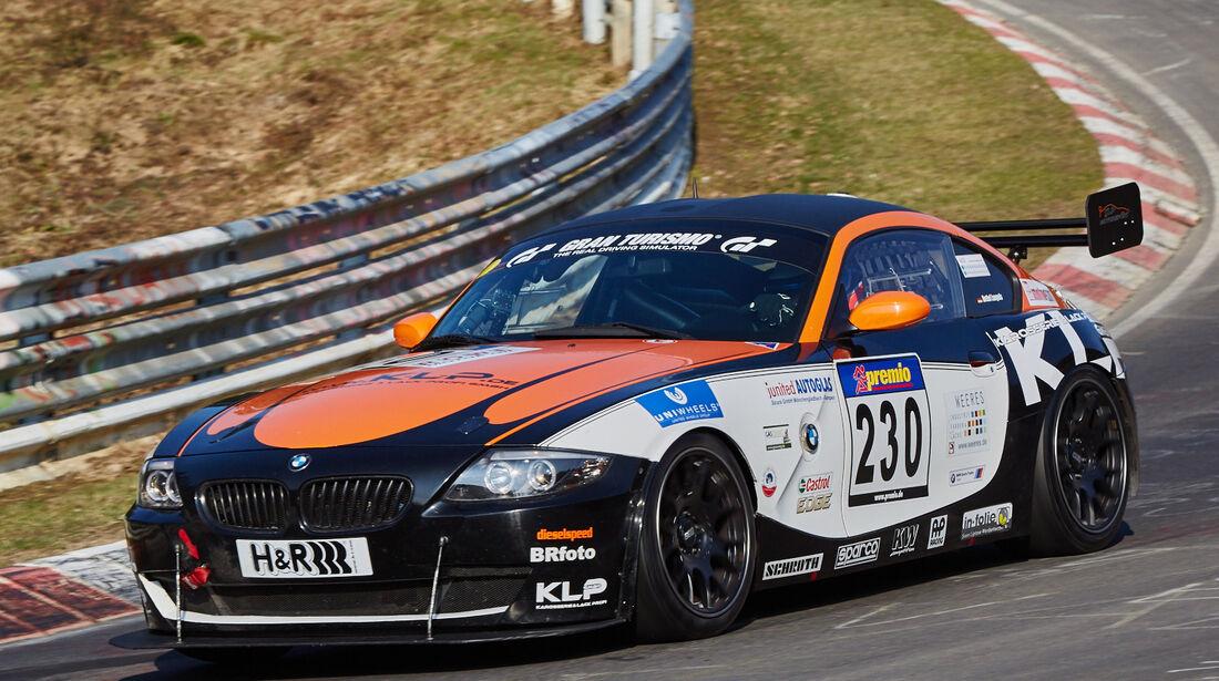 VLN2015-Nürburgring-BMW Z4 Coupe-Startnummer #230-SP5