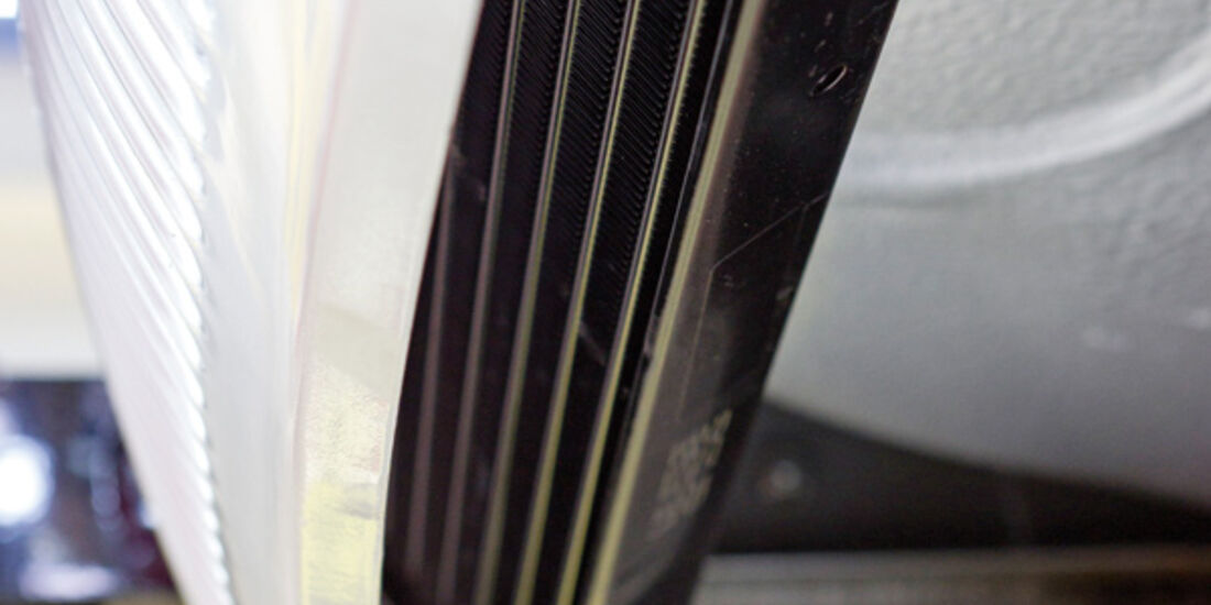 VW 1303 Rallye, Detail, Ölkühler