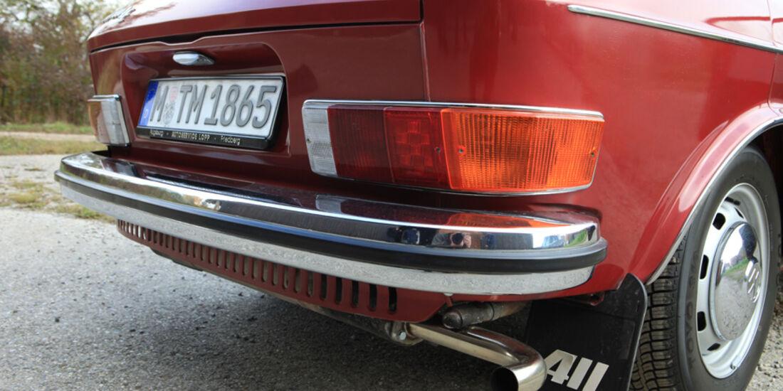 VW 411 LE, Heck