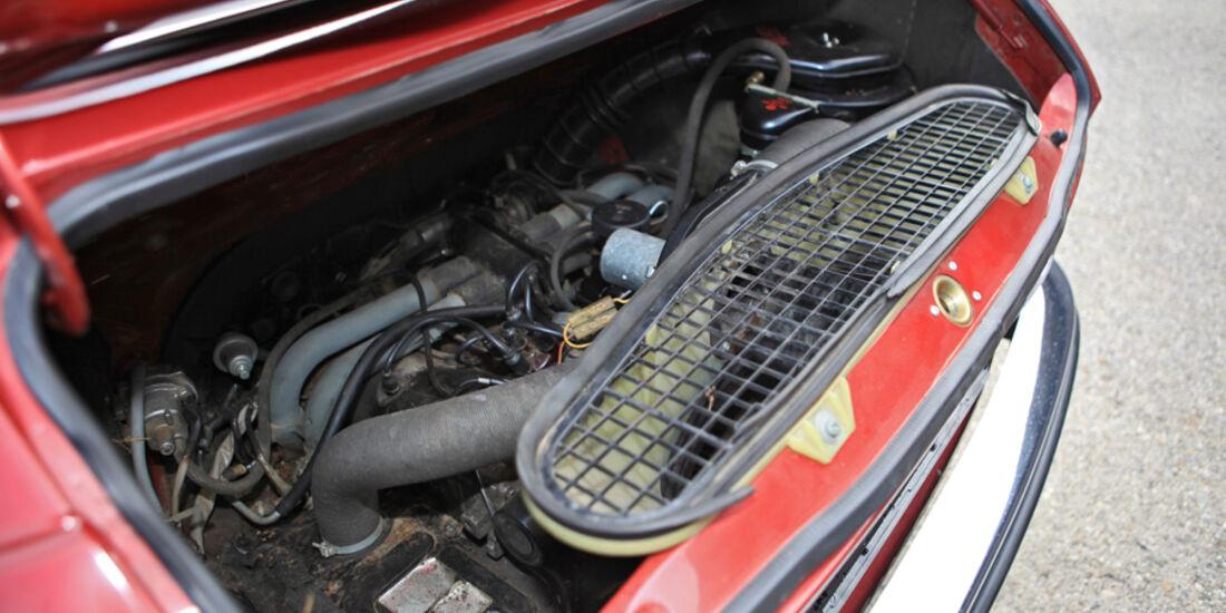 VW 411 LE, Motor