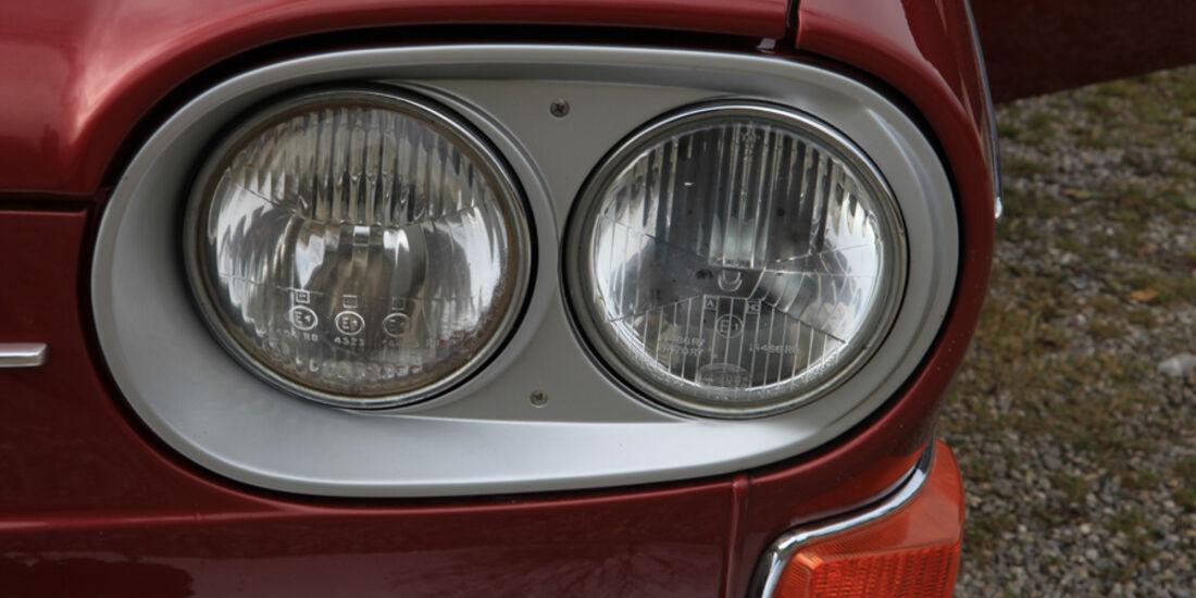 VW 411 LE, Scheinwerfer