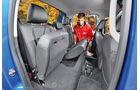 VW Amarok 3.0 TDI, Fondsitze, Umklappen