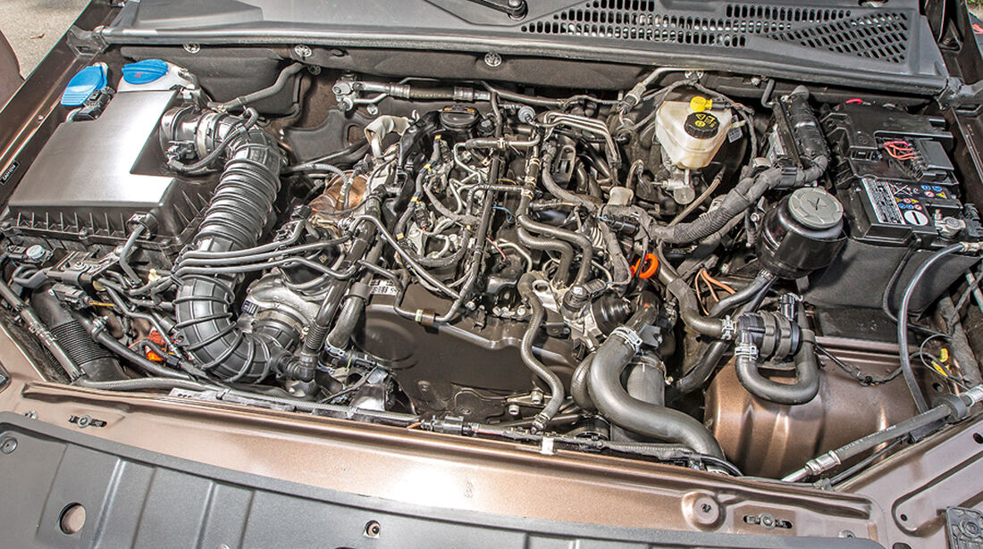 VW Amarok Double Cab 2.0 Bi TDi 4Motion BM T Highline, Motor
