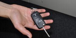 VW Amarok, Innenraum-Check, Zündschlüssel
