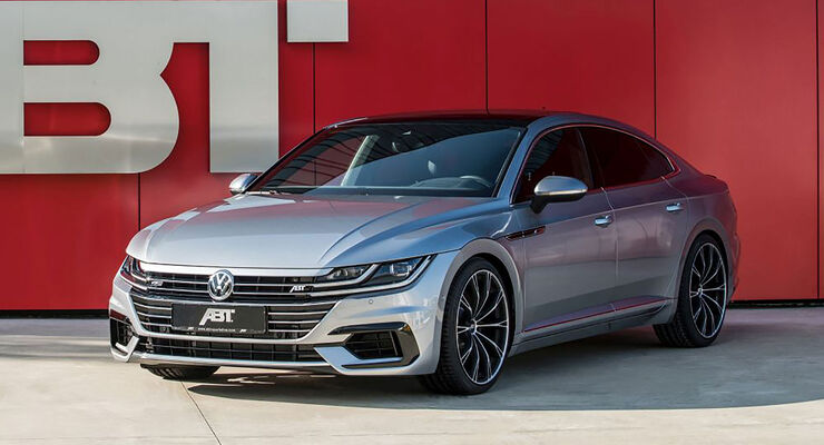 Abt Vw Arteon R Version Vom Tuner 8500844 on volkswagen passat