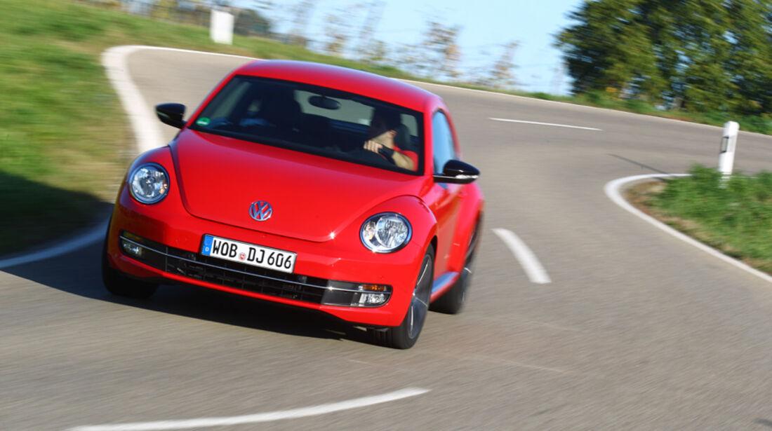 VW Beetle 2.0 TSI, Kruvenfahrt