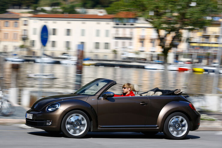 vw beetle cabrio 2 0 tdi im test diesel im bug sonne im. Black Bedroom Furniture Sets. Home Design Ideas
