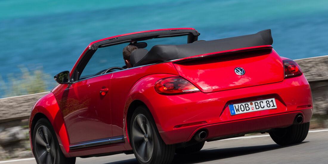 VW Beetle Cabrio, Heckansicht
