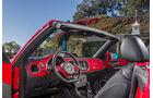 VW Beetle Cabriolet, Cockpit, Lenkrad