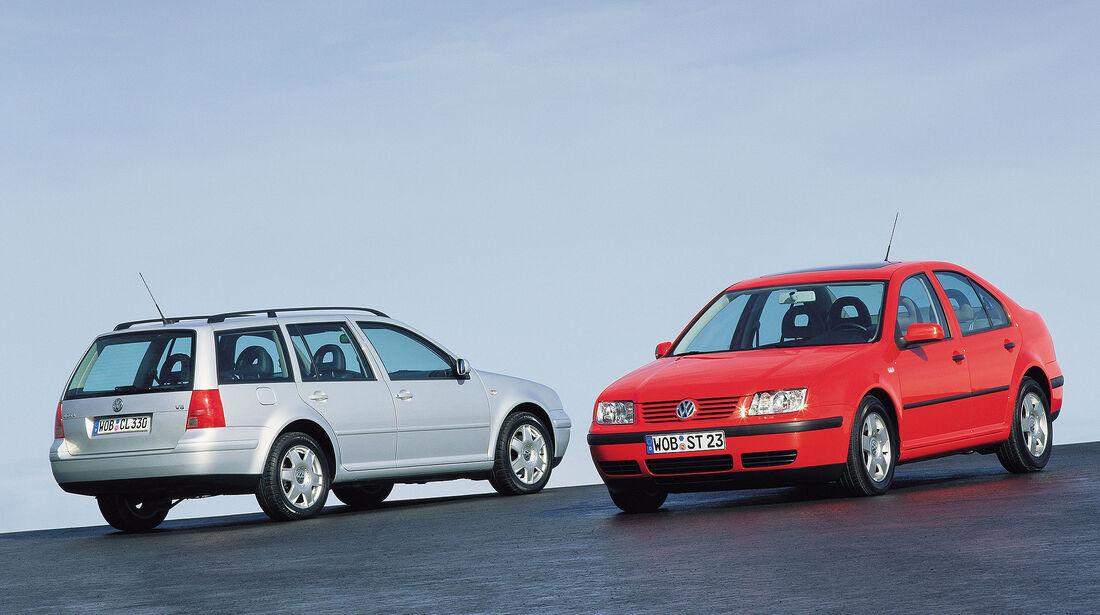 VW Bora Limousine und Variant