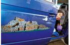 VW-Bus T3, Corrias, Bemalung, Tür