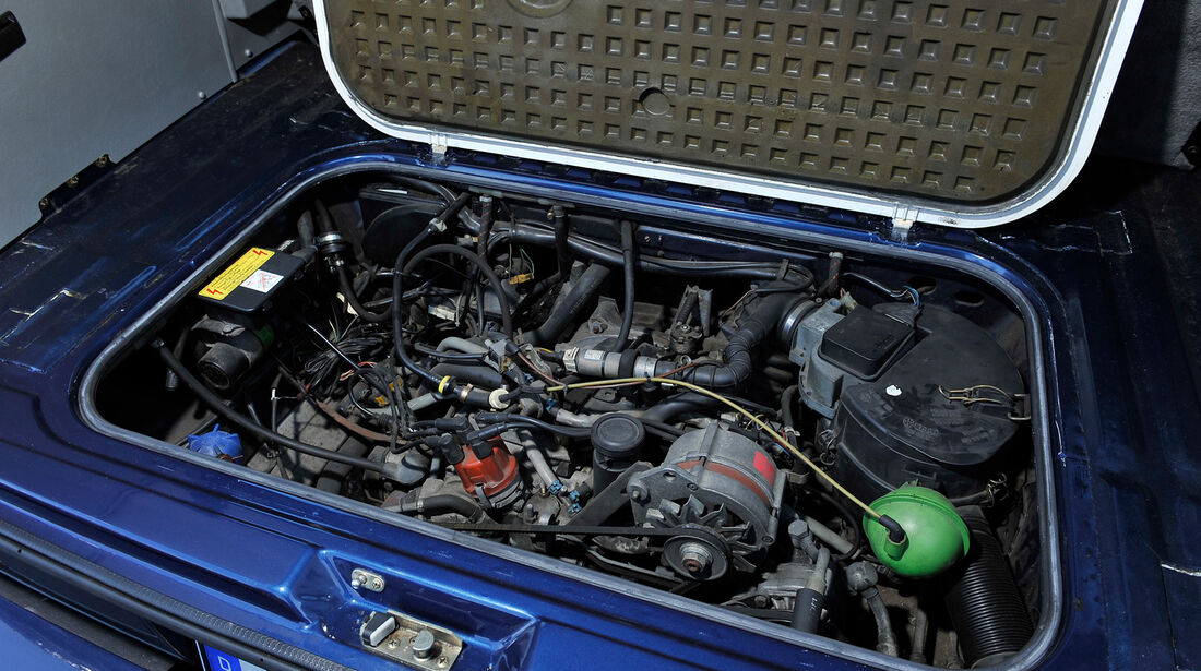 VW Bus, T3, Motor
