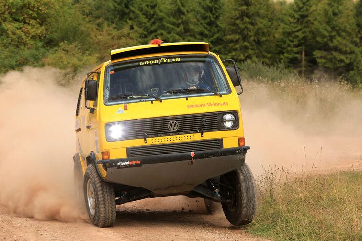 VW Bus T3 Rallye, Frontansicht