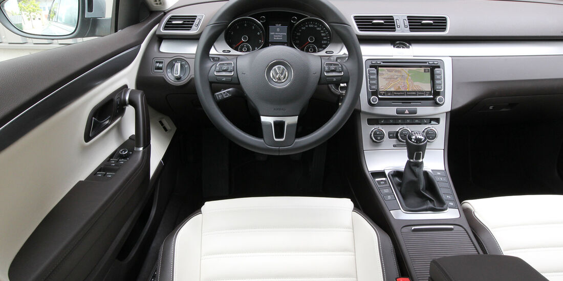 VW CC 1.8 TSI, Cockpit