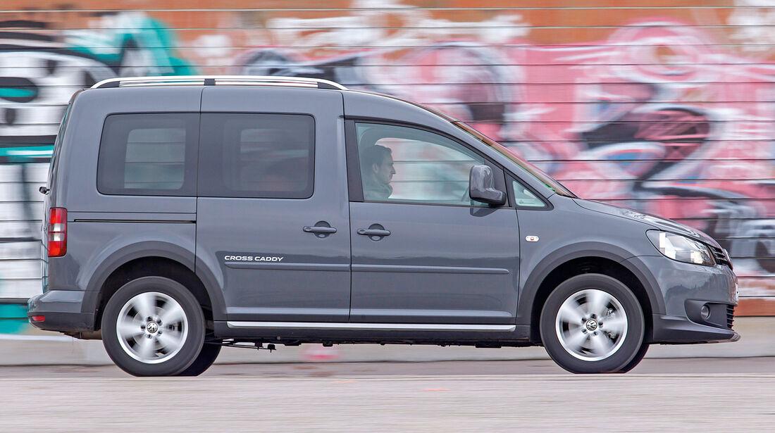 VW Caddy 1.6 Bi-Fuel, Seitenansicht