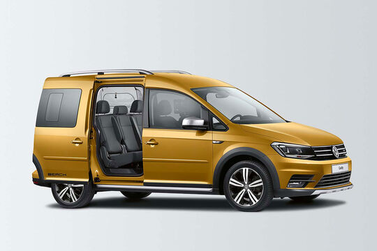 VW Caddy Beach Alltrack