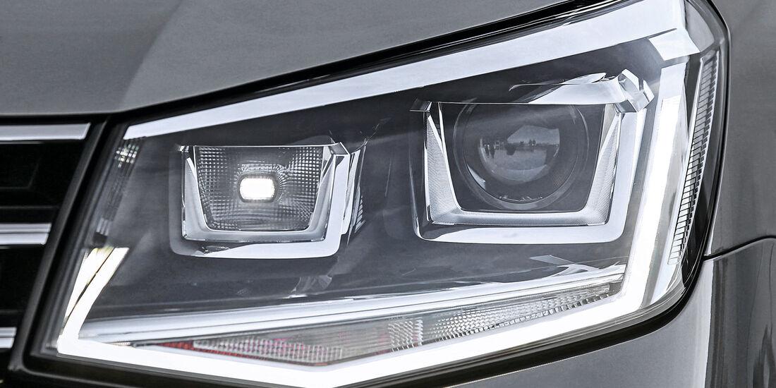 VW Caddy, Bi-Xenon-Scheinwerfer
