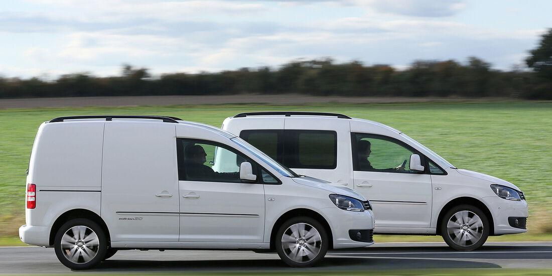 VW Caddy, Caddy Transporter 2013