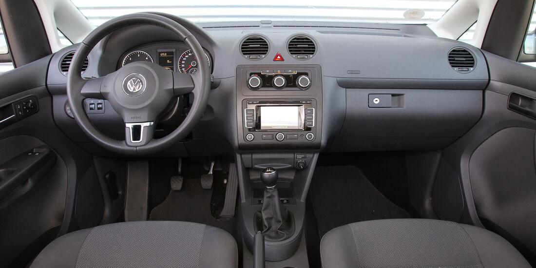 VW Caddy, Cockpit, Lenkrad