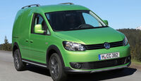 VW Cross Caddy 2.0 TDI DSG 4 Motion, Frontansicht