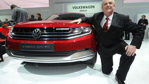 VW Cross Coupé Genf 2012 Martin winterkorn