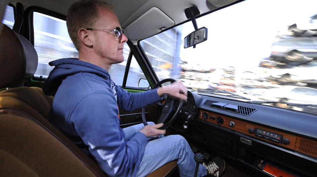 VW Derby, GLS, Innenraum