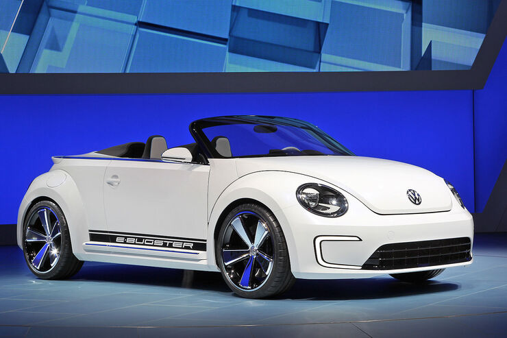 VW E-Bugster Auto China 2012 offen