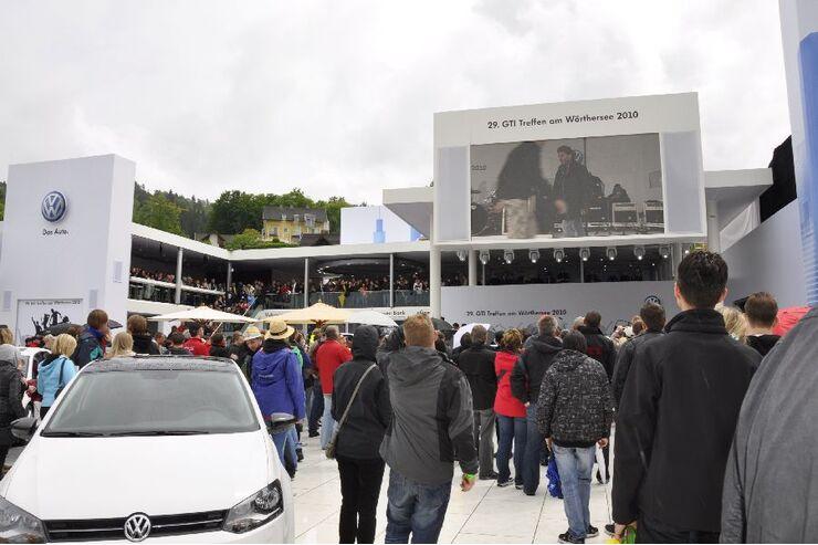 VW Fan City beim GTI-Treffen
