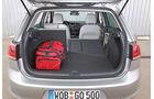 VW Golf 1.4 TSI ACT Highline, Rücksitz, Beinfreiheit