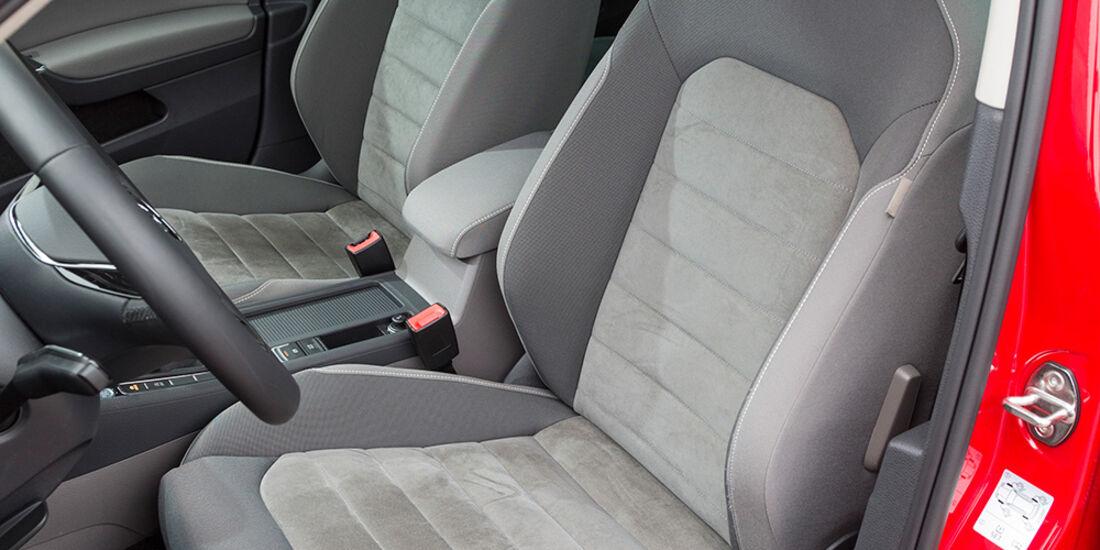 VW Golf 1.4 TSI, Sitze