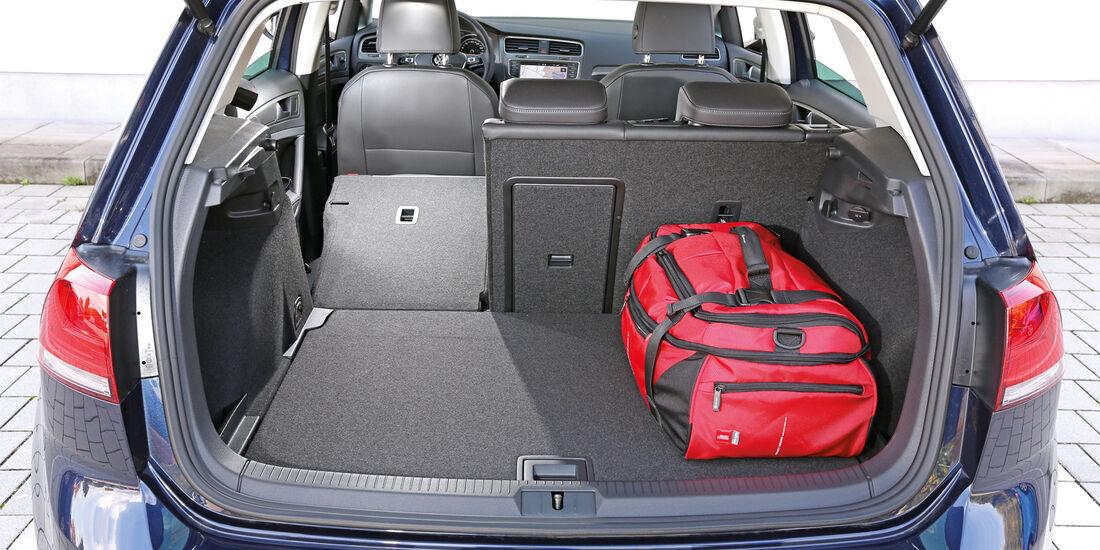 VW Golf 1.6 Blue TDI, Kofferraum