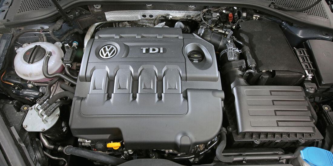 VW Golf 1.6 TDI, Cockpit