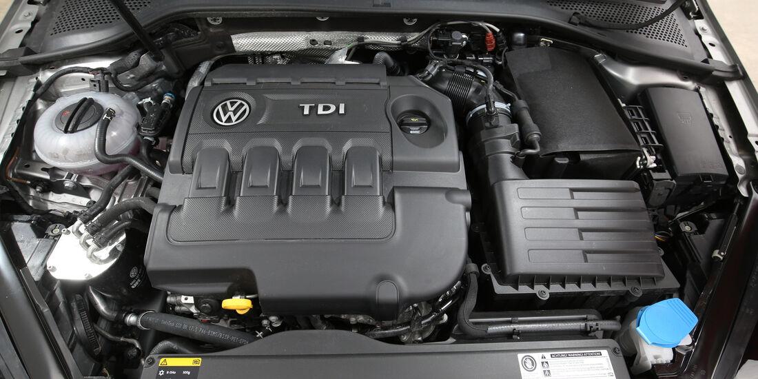 VW Golf 2.0 TDI, Motor